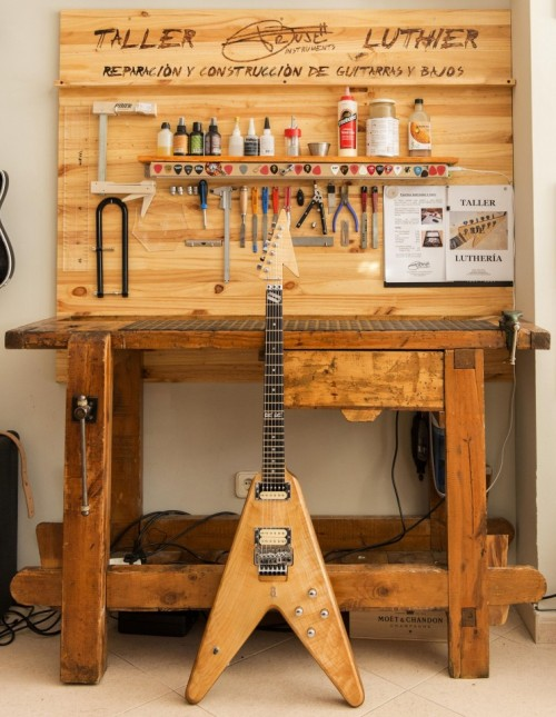 Luthier madrid sur sur music studio for Luthier madrid